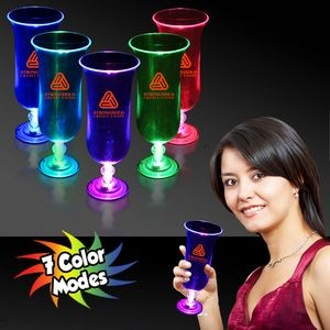 16 Oz. Light Up Hurricane Glass